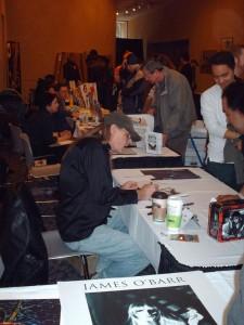 James O'Barr - Dallas Comic Con 09
