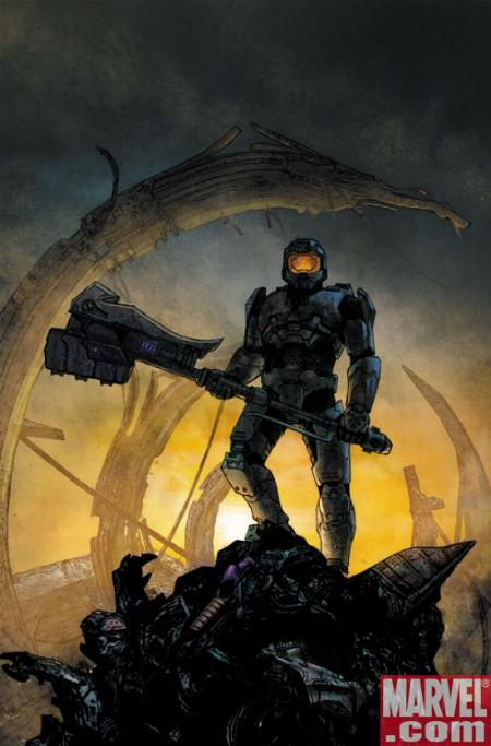 Halo: Uprising #3 Cover by Marvel