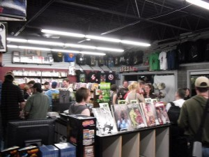 Pre-Party at Austin Books and Comics