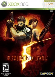 Resident Evil Box Art, 360 version