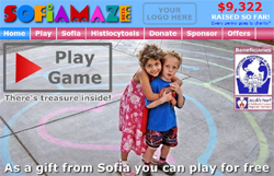 Check out the game at Sofiamaze.com