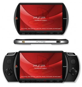 Sony PSP2 concept design, sure looks 'transformy'.