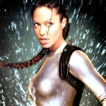 Miss Jolie overcame her fear of water to film the movies