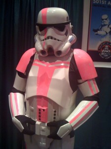 Dallas Tx 501st : Pink Ribbon Trooper