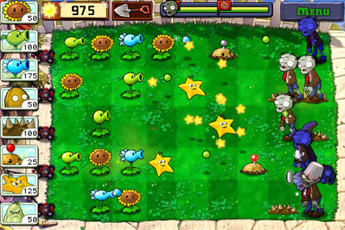 Plants vs zombies ios скачать img-1